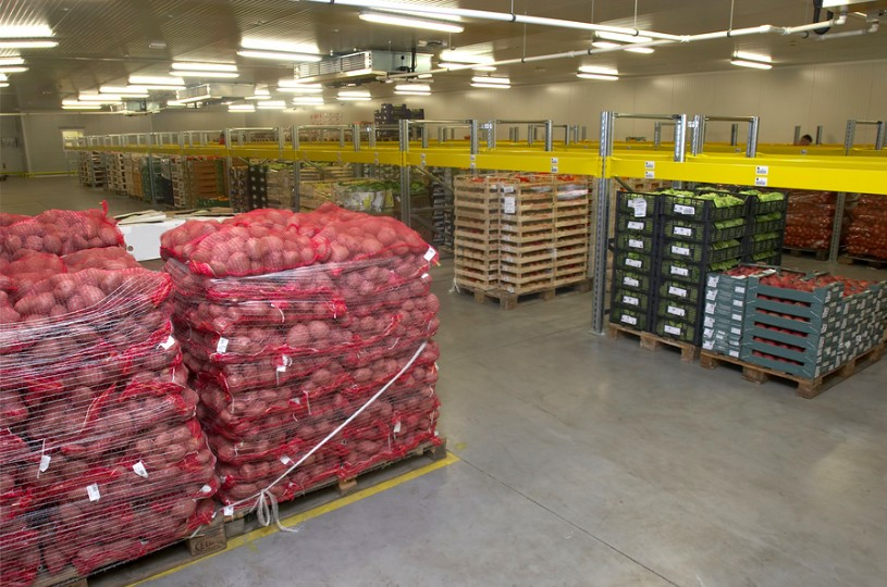 food system packaging processing and distribution