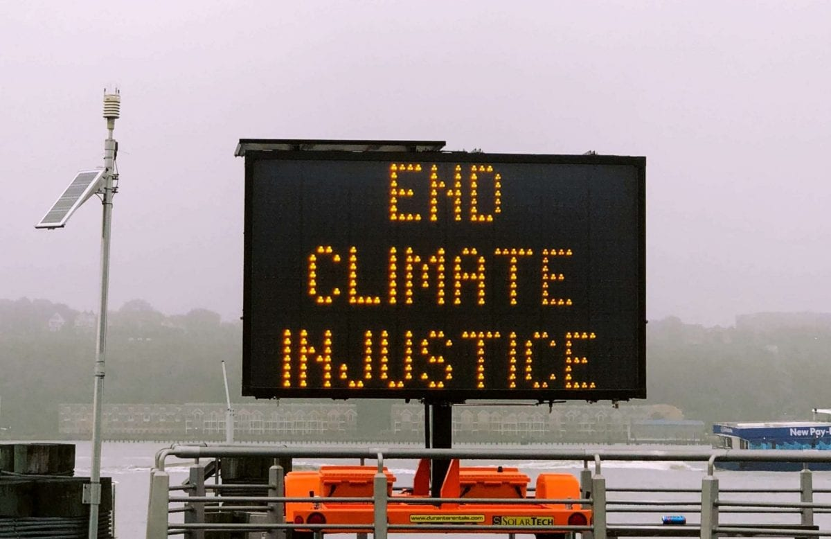 end climate injustice