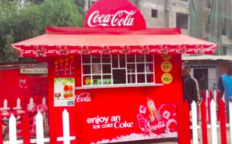 coca cola advertising in africa