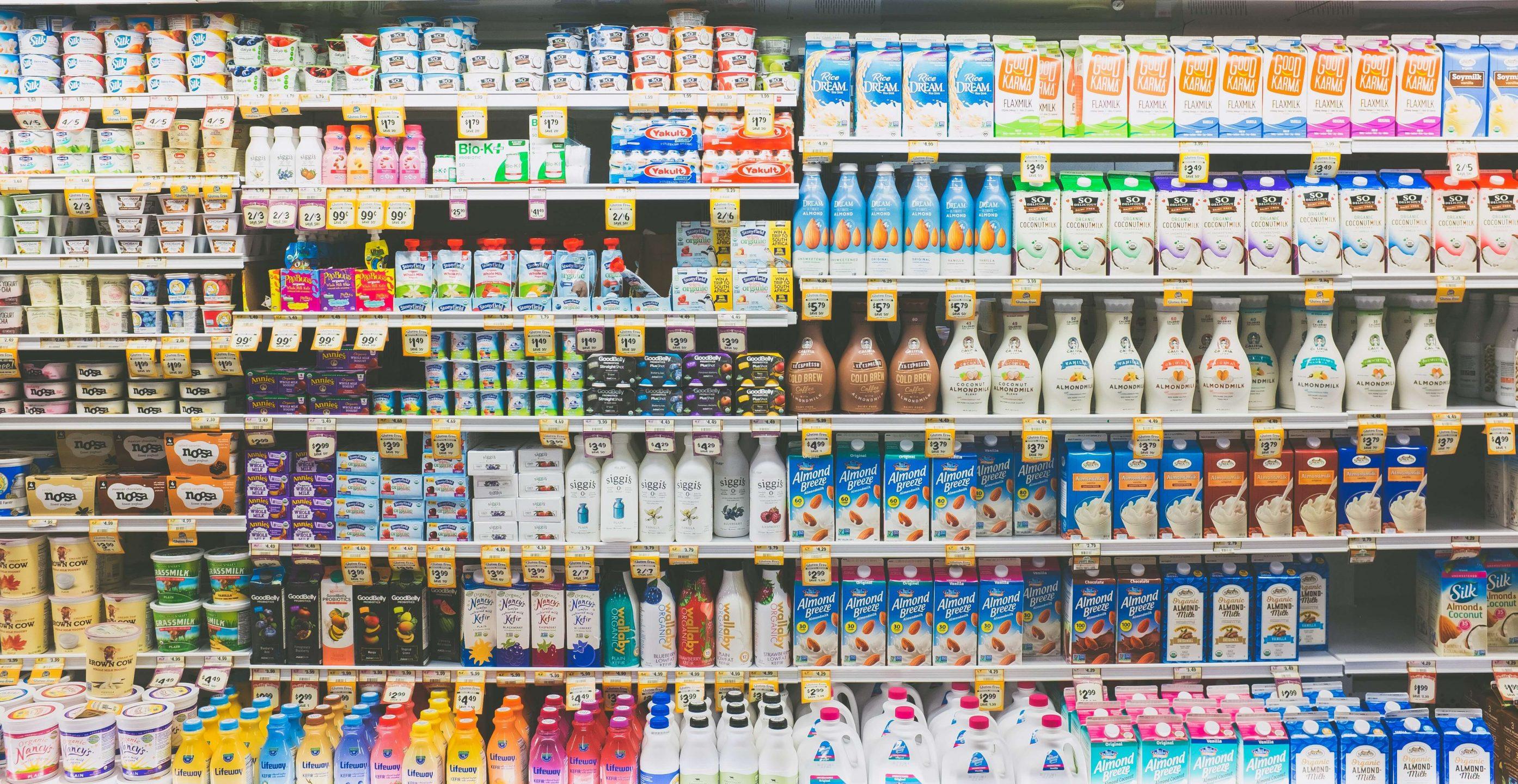 milk aisle dairy
