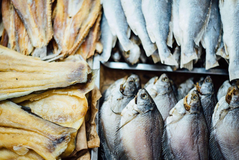 fish market dead