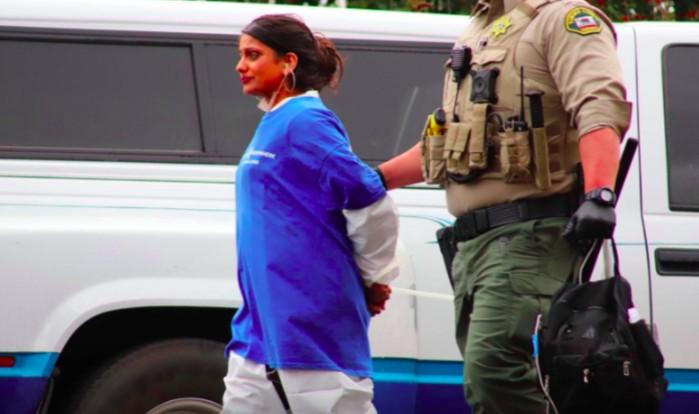 dxe protester arrested priya sawhney