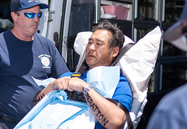 Chiang ambulance injury