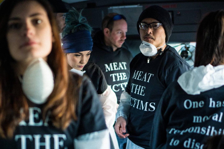 activists bus Amy