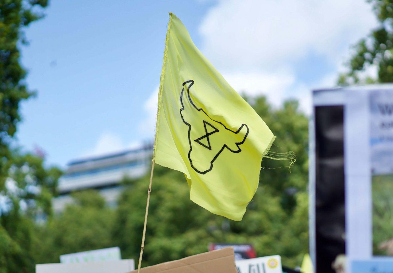 animal rebellion flag