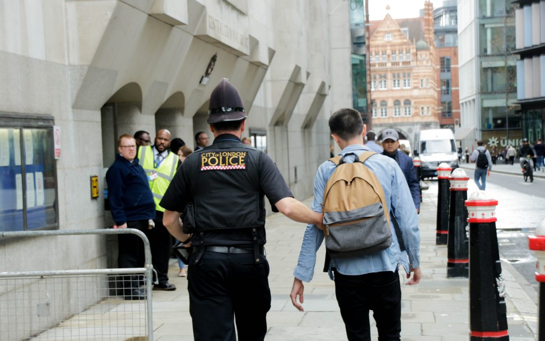 Animal Rebellion Protester Arrested Outside Old Bailey in London