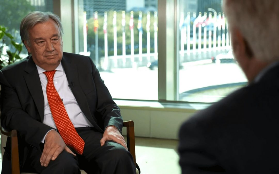 """Nature Is Angry"": UN Secretary General Urges Public to Address Climate Emergency"