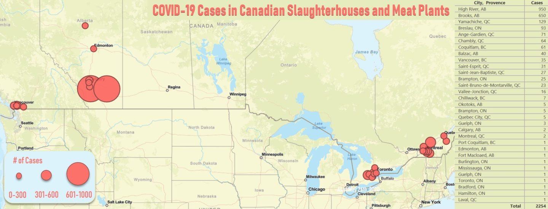 map covid canada